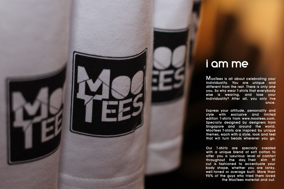 i am me. MooTees is all about celebrating your individuality.