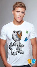 Clapping Cats cool graphic T shirts for men Graybles 02 white 02