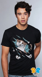 Clapping Cats cool graphic T shirts for men Tabbilicious 01 white 04