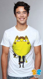 Clapping Cats cute graphic T shirts for men Cat Wars 04