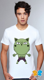 Clapping Cats cute graphic T shirts for men Super Hero Cats 04