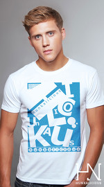 Hunkalicious cool graphic tees for men Mix Mash 01 white 02