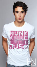 Hunkalicious cool graphic tees for men Mix Mash 03 white 04