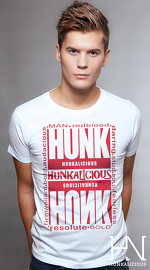 Hunkalicious cool graphic tees for men Mix Mash 04 white 01