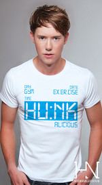 Hunkalicious cool graphic tees for men Storm Runner 03 white 03
