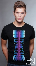 Hunkalicious cool graphic tees for men Storm Runner 04 black 01