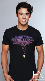 Hunkalicious cool graphic tees for men Storm Runner 05 black 04