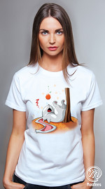 MooTees cool graphic T shirts for women Four Seasons 01 white 04