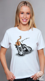 MooTees cool graphic T shirts for women Twisted 04 white 01