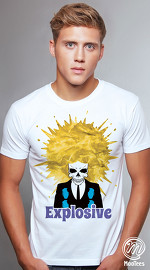MooTees cool graphic tees for men Afrodisiac 01 white 03