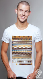 MooTees cool graphic tees for men Arcade 05 white 01