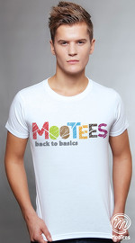 MooTees cool graphic tees for men Brand Basic 02 white 01