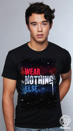 MooTees cool graphic tees for men Canvas 05 black 04
