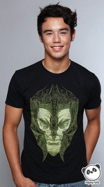 MooTees cool graphic tees for men Dark Matter 05 black