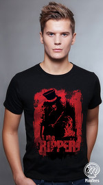 MooTees cool graphic tees for men Dead Ink 02 black 01
