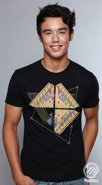 MooTees cool graphic tees for men Ethnical 03 black 04
