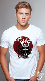 MooTees cool graphic tees for men Evolution 01 white 01