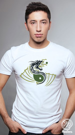 MooTees cool graphic tees for men Fearless 05 white 01