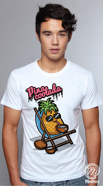 MooTees cool graphic tees for men Food Talk 04 white 04