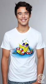 MooTees cool graphic tees for men Four Seasons 04 white 04
