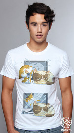 MooTees cool graphic tees for men Grumperson 04 white 04