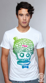 MooTees cool graphic tees for men Macabre 02 white 04