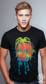 MooTees cool graphic tees for men Macabre 05 black 02
