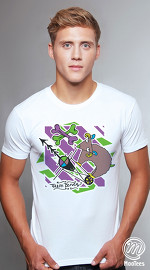 MooTees cool graphic tees for men Menagerie 05 white 02
