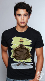 MooTees cool graphic tees for men Modern Horror 03 black