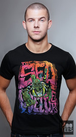 MooTees cool graphic tees for men Monsters Reformed 01 black