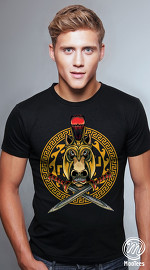 MooTees cool graphic tees for men Mystique 02 black