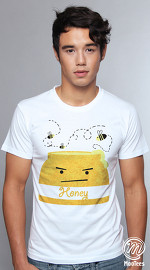 MooTees cool graphic tees for men Percepted Acuity 01 white 04