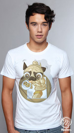 MooTees cool graphic tees for men Pet Pals 04 white 04
