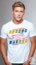 MooTees cool graphic tees for men Polis 05 white 02