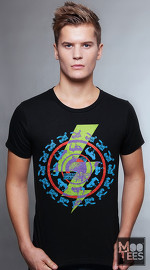 MooTees cool graphic tees for men Revolution 05 black 01