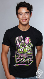 MooTees cool graphic tees for men Rhobauts 01 black 04