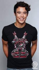 MooTees cool graphic tees for men Rhobauts 03 black 04