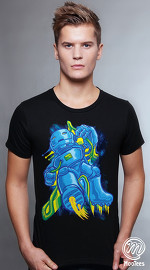 MooTees cool graphic tees for men Rhobauts 04 black 01
