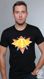 MooTees cool graphic tees for men Space 01 black 01
