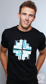 MooTees cool graphic tees for men Space 03 black 01