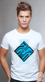 MooTees cool graphic tees for men Space 04 white 01