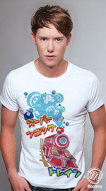 MooTees cool graphic tees for men Tranceport 01 white 03