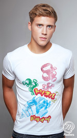 MooTees cool graphic tees for men Tranceport 02 white 02