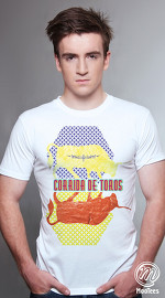 MooTees cool graphic tees for men Trapped 03 white 04