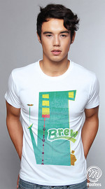 MooTees cool graphic tees for men Urbanite 01 white 04