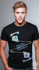 MooTees cool graphic tees for men Urbanite 02 black 02