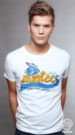 MooTees cool graphic tees for men Vintage Varsity 01 white 01