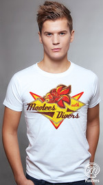 MooTees cool graphic tees for men Vintage Varsity 03 white 01