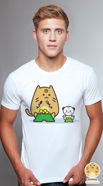 Peperpine cool graphic T shirts for men Marbles 05 Toy Animal white