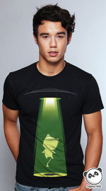 Slapping Panda cool graphic tees for men Catduction black 04